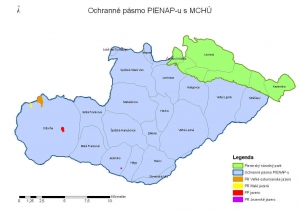 Pieninský národný park a jeho ochranné pásmo
